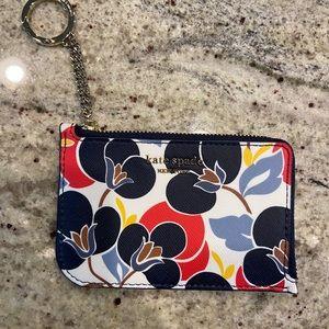 Kate Spade Card Holder Keychain NWOT